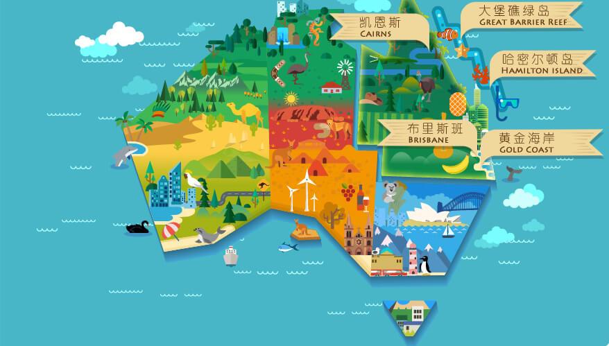 澳大利亚凯恩斯大堡礁旅游