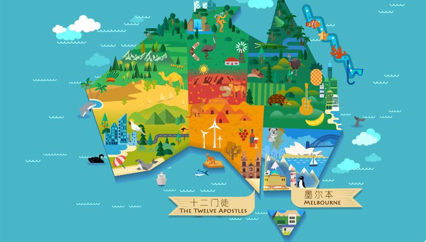 澳大利亚墨尔本旅游